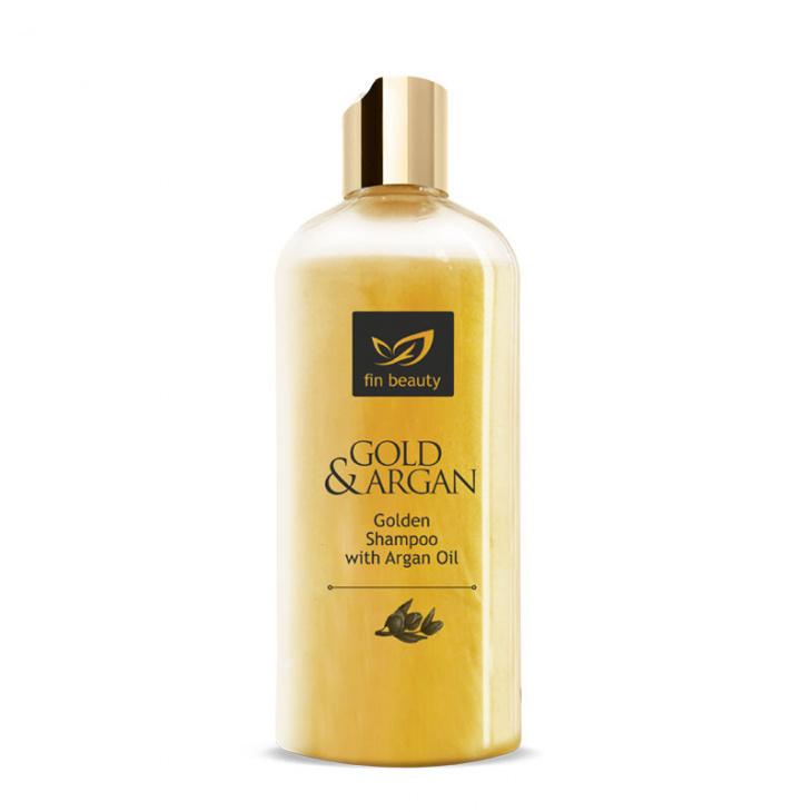 Shampoo mit Gold und Arganöl