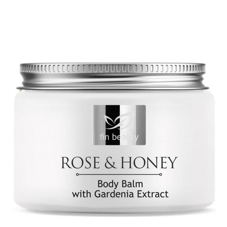 Körperbalsam mit Rosen- und Honigextrakten